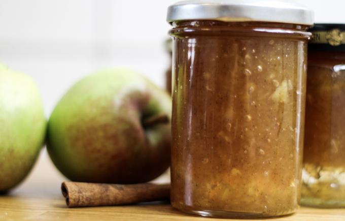 Apfel-Zimt-Marmelade