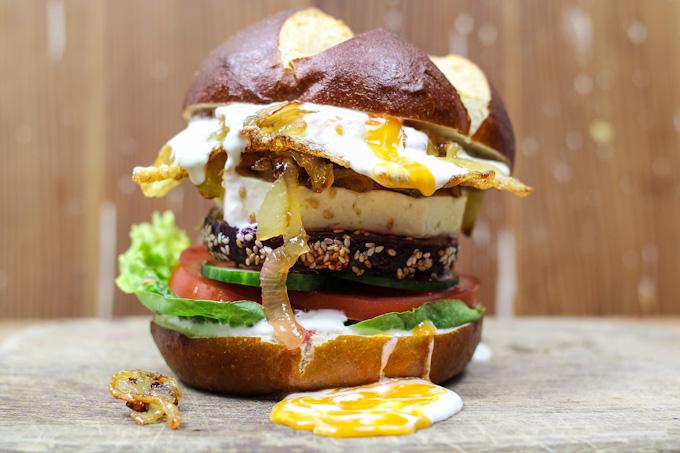 Sweet Beetroot Burger