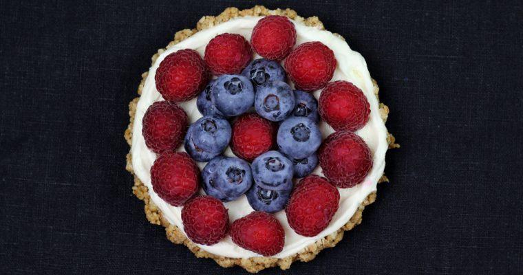 Cheesecake mit frischen Beeren