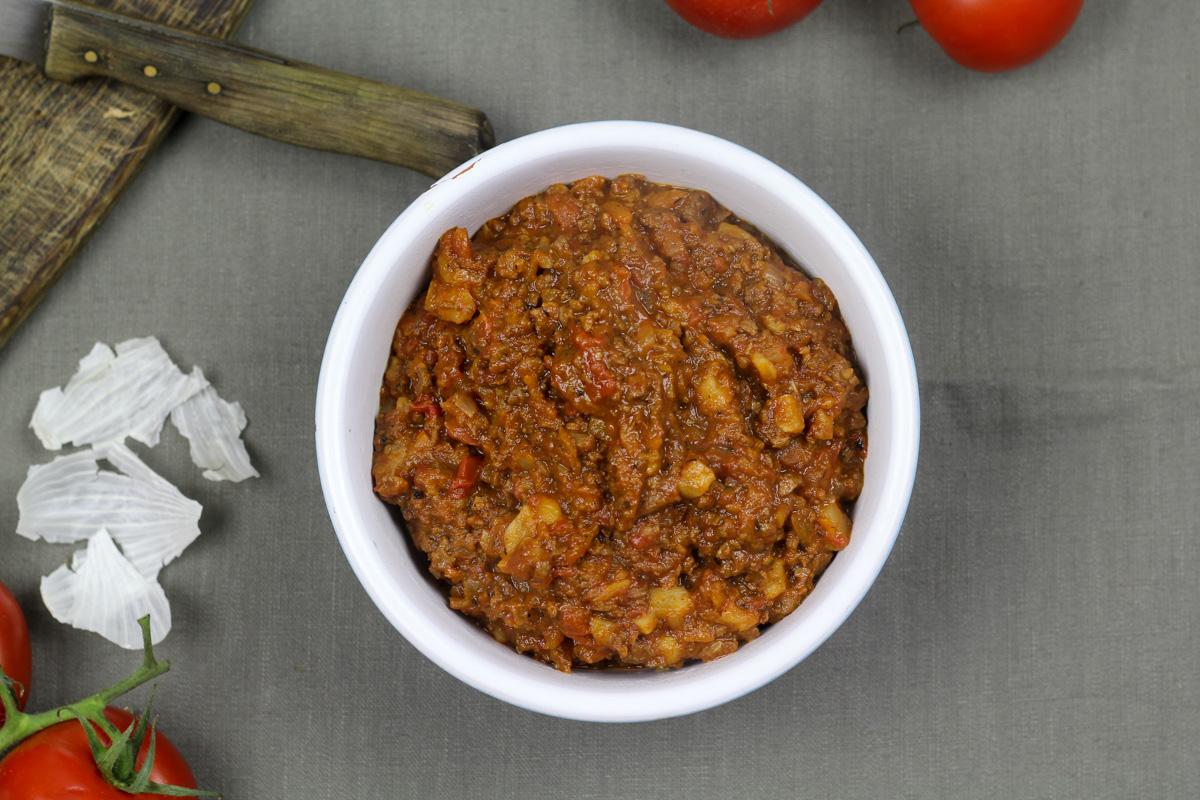kitchenmate vegetrische bolognese 5