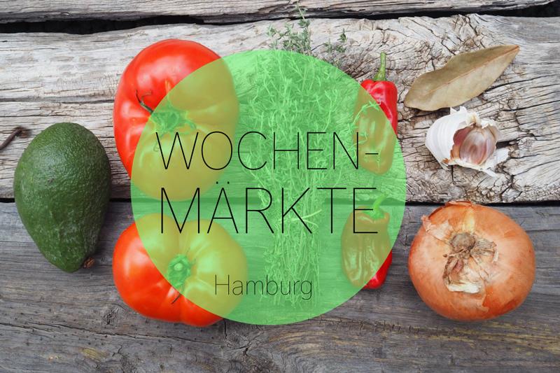 Wochenmärkte in Hamburg. Interaktive Übersichtskarte mit allen Märkten der Stadt