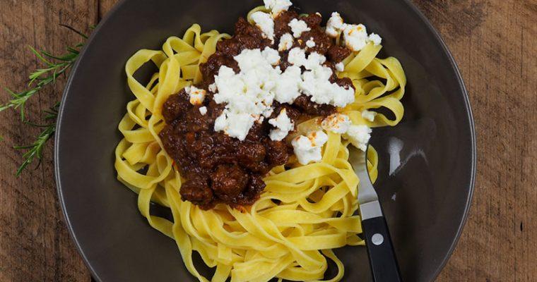 Chorizo Bologenese