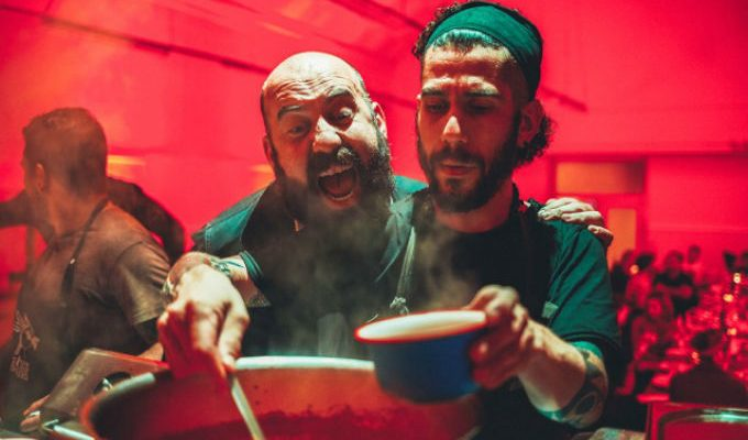 Wie schmeckt eigentlich Musik? Die Kitchen Guerilla kocht Musik auf dem Reeperbahn Festival