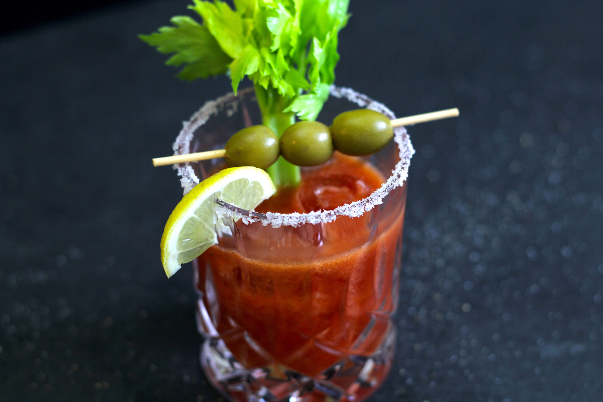 Bloody Mary mit Linie Aquavit