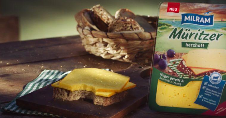 Ein Hoch auf das Käsebrot – MILRAM Müritzer Herzhaft (Werbung)