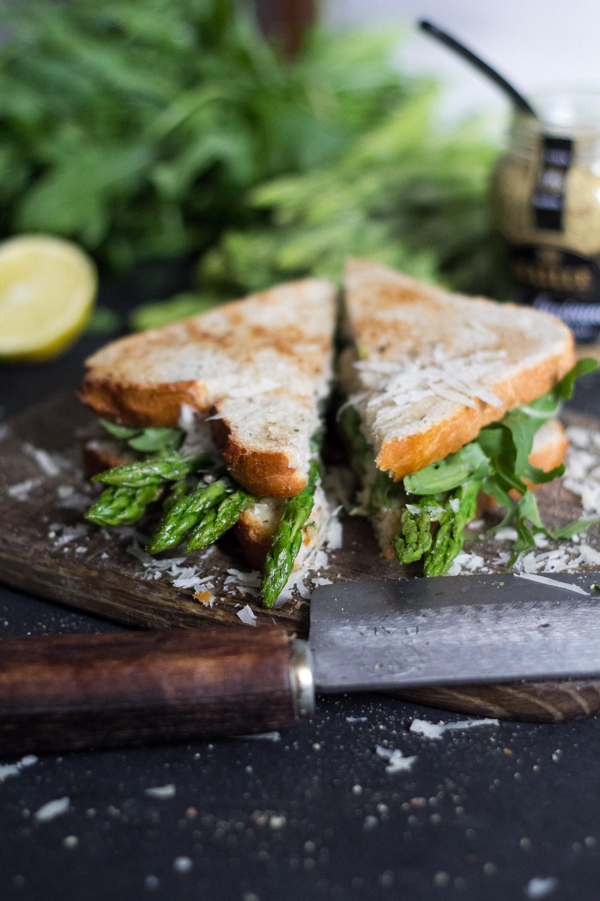 Spargel Sandwich