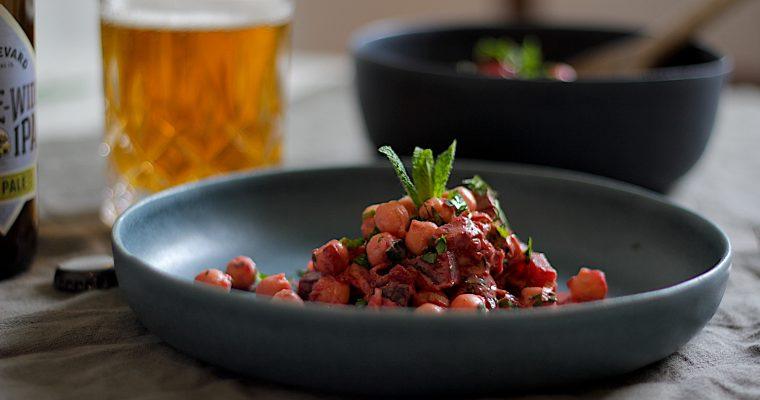 Kichererbsen Rote Bete Salat